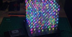 RGB Cube 8x8x8 Random Color